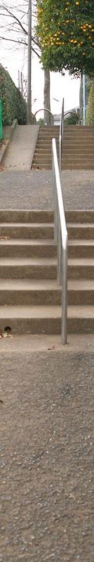 階段を上りきった先にはおいしい実がなっているのか